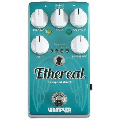 Delay and Reverb Pedal - Guitar / Bass WAMPLER ETHEREAL
