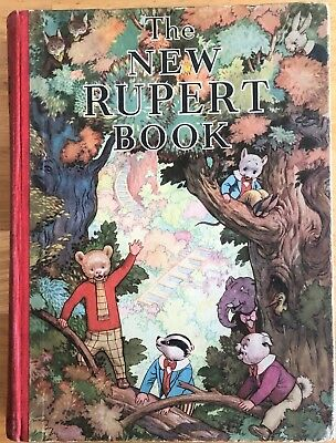 RUPERT BEAR ANNUAL 1938 ORIGINAL NOT Inscribed SOUND VG PLUS EXAMPLE