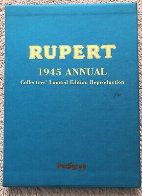 RUPERT FACSIMILE ANNUAL 1945 AS New LTD EDITION in SLIPCASE No 0133