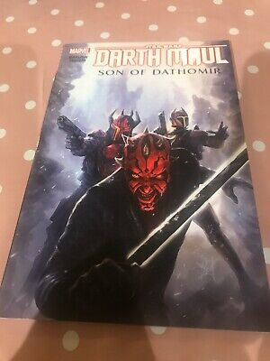 Darth Maul: Son Of Dathomir. Star Wars comic Marvel. tpb / graphic novel.