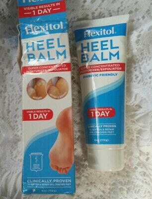 Flexitol Heel Balm 4 oz ~ VISIBLE RESULTS IN 1 DAY ~ Super Concentrated