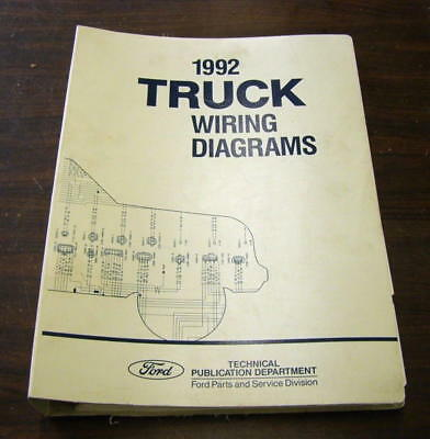 1992 ford f600 f700 f800 trucks factory wiring diagrams two sets: cab and  cowl
