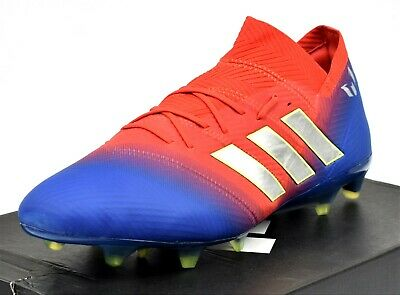 6a6196b15eed ADIDAS NEMEZIZ 18.1 FG - New Men's Soccer Cleats Firm Ground BB9444 Red Blue