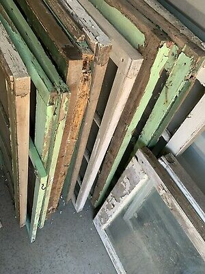 Architectural Salvage Lot ~ OLD WINDOW SASH FRAMES SCREENS PINTEREST