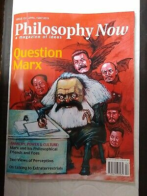 Philosophy Now magazine #131, April/May 2019:- Question Marx - New