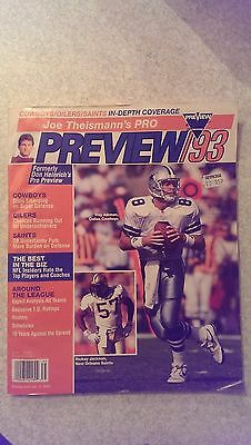 Joe Theismann's Pro Preview 1993 Annual