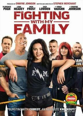 FIGHTING WITH MY FAMILY (Region 1 DVD,US Import,sealed.)