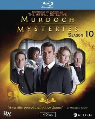 MURDOCH MYSTERIES: SEASON 10 (Region A BluRay,US Import,sealed.)