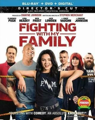 FIGHTING WITH MY FAMILY (BLU RAY) Region free