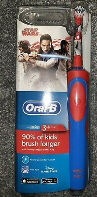 Braun Oral B Stages Vitality Kids Electric Toothbrush for Children STAR WARS UK