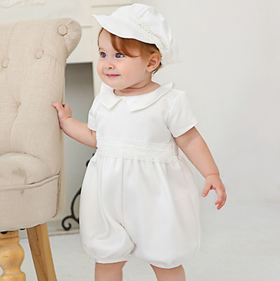 Gorgeous Tutu Baby Romper Lace Christening Dress Toddler Embroidery Baptism Gown