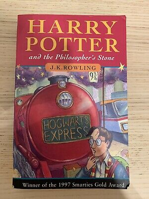 Harry Potter And The Philosophers Stone - 1st Edition, 36th Print - Young Wizard