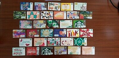 2018 Starbucks Complete Year Set (125) Cards