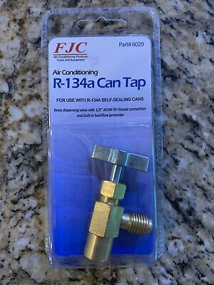 "R134a, 134a, R-134a, Taper For The New ""Self-Sealing"" Cans, Now Required! Kit A"
