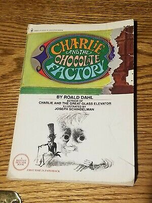 Charlie and the chocolate factory by roald dahl paperback November 1977 bantam