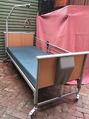 INVACARE Electric Hospital Nursing Bed with Mattress & Controller