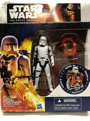 """Star Wars The Force Awakens Armor Up Flametrooper 3.75/"""" Loose Action Figure"""