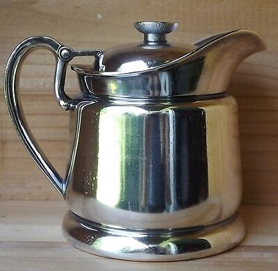 Vintage IS International Silver Co. 10 oz Cream/Milk Tankard M78 1959