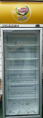 1 Door Commercial Glass Display Fridge 750mm wide x 2200mm high x 700mm deep