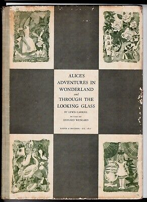 Rare First Combined Edition Of Alice In Wonderland & Through The Looking Glass