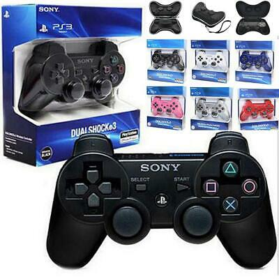 Wireless Bluetooth Remote Dual Shock Controller Gamepad Joystick for PS3 Gamepad