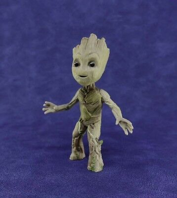 "Hot Cute Guardians of The Galaxy Vol. 2 Baby Groot 4"" Figure Statue Interest Toy"