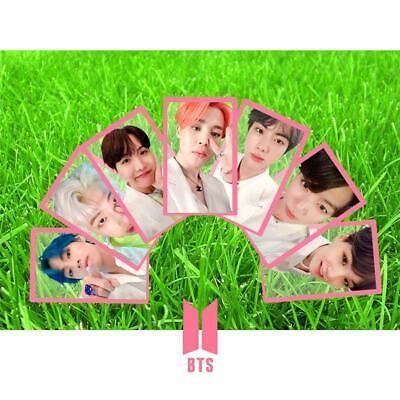 Kpop BTS Map of The Soul Persona Clear Photo Card JIMIN SUGA V Photocard Poster