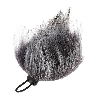 Furry Outdoor Microphone Windscreen Wind Muff for Sony M-10 Digital Recorder