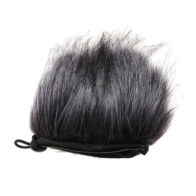 Fur Windscreen Wind Muff Mic Wind Cover for Sony D100 Digital Recorder