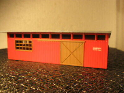 Honor System Rural Area Feed Store In Machine Shed.   Ho Model R.r. Train Bldngs
