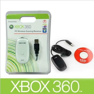 NEW PC Wireless Controller Gaming Receiver Adapter For Microsoft XBOX 360