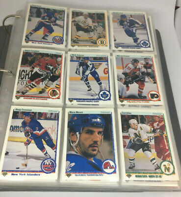 1990-91 Upper Deck Hockey Complete French Set (1-550) Low & High Set Young Guns!