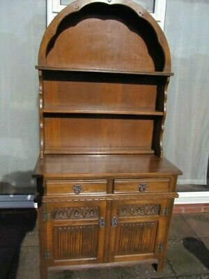 Old Charm Dresser Dome Top Golden Oak Kitchen Vintage  Furniture Delivery