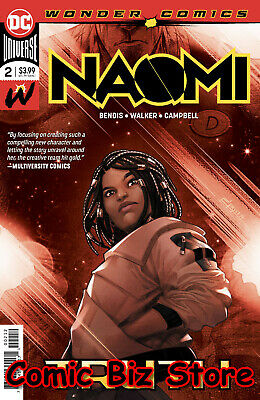 Naomi #2 (2019) Final Printing Variant Cover Bagged & Boarded Dc Universe