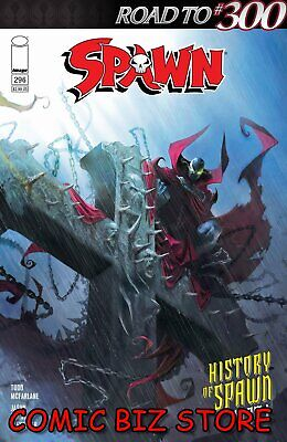 Spawn  #296 (2019) 1St Printing Mattina Cover A Bagged & Boarded Image Comics