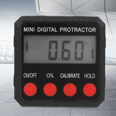 Single Side Magnetic Zinc Alloy Angle Finder Digital Protractor Inclinometer