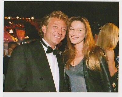Carla BRUNI  - Laurent BOYER - WORLD MUSIC AWARD 95 Photo Presse Originale