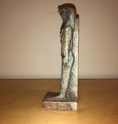 Egyptian Blue Hard Stone Horus The Falcon God