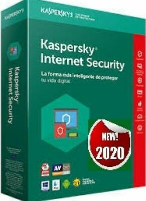 Kaspersky Internet security  1 PC, 1 Anno, originale