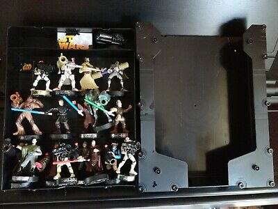 Attacktix Star Wars Figures Star Wars Miniatures Game Minis & Case