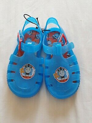 cf57c170927 Toddler Baby Boys Thomas The Tank Jelly Shoes Sandles Brand New Size 5