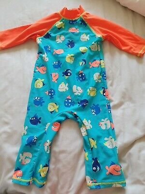 Boots Mini Club Baby Boys All In One Swimsuit Age 18 To 24 Months