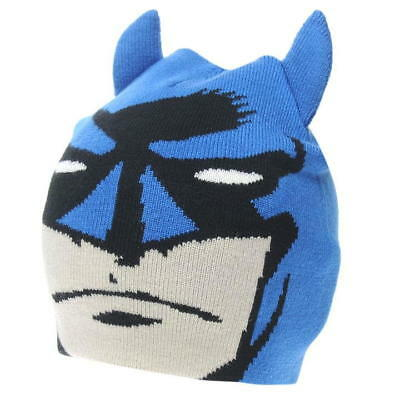 Batman; Winter Hat With Ears, Junior 4-8Yr Approx,New With Tags