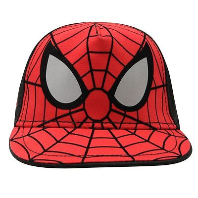 Marvel:spiderman Baseball Cap,One Size 4-8Yr Approx,New With Tags