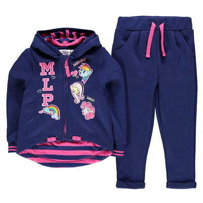 MY LITTLE PONY:FULL ZIP JOG SET,3/4,4/5,5/6,7/8,9/10,11/12,13yr,NEW WITH TAGS