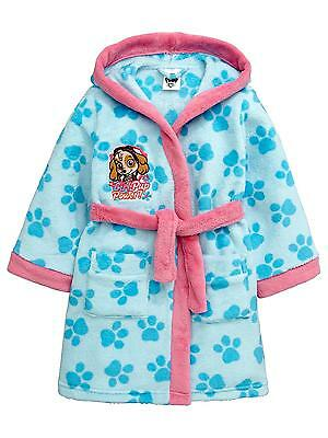 Paw Patrol:girls Stunning Official Dressing Gown/Robe 2/3,3/4Yr,Nwt