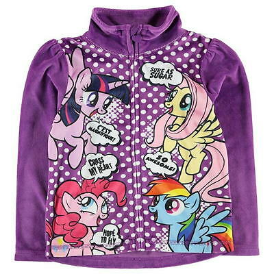 My Little Pony:2017 Full Zip Fleece,3/4,4/5,5/6,7/8,9/10,11/12Yr,New With Tags