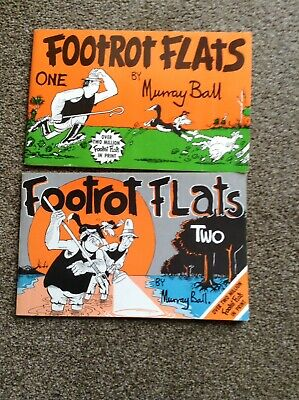 2 Footrot Flats Comic Books