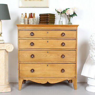 Antique Swedish Chest of Drawers 19th Century Pine