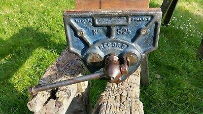 Large Record 52 1/2 Quick Release Vice
